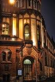Old Tallinn at night Royalty Free Stock Photos