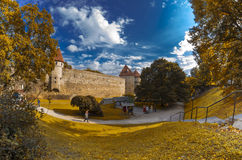 Old Tallinn Stock Photography