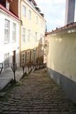 Old Tallinn Street Royalty Free Stock Photos