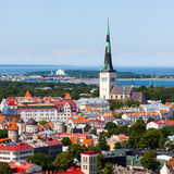 Old Tallinn summer view Royalty Free Stock Photo