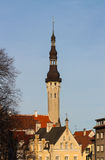 Old Tallinn. Tallinns Old Town is listed as a UNESCO World Heritage Site. It is ranked as a global city and has been listed among the top 10 digital cities in royalty free stock photography