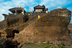 Old Tanah Lot Temple. Stock Image