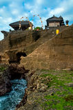 Old Tanah Lot Temple. Royalty Free Stock Photography