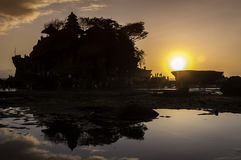 Old Tanah Lot temple Stock Image