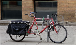 Old tandem bicycle Royalty Free Stock Photography