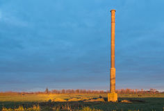 Old Tane Mill Chimney Royalty Free Stock Photography