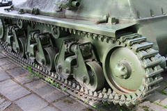 Old tank from 2 world war Royalty Free Stock Images