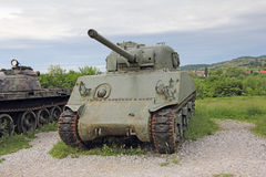 Old Tank Royalty Free Stock Photo