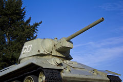Old Tank Memorial in Berlin Stock Photography