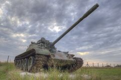 Old Tank Royalty Free Stock Photography