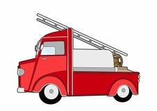 Old tank truck. Vector illustration of a means of transport, file eps 10 Stock Illustration