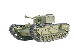 The old tank. Royalty Free Stock Image