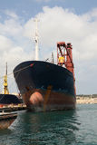 Old Tanker Stock Photo