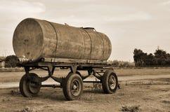 Old tanker trailer Stock Images
