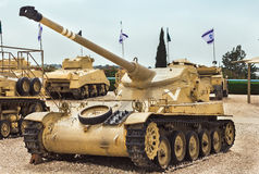 old tanks and armored vehicles Royalty Free Stock Image
