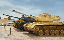 old tanks and armored vehicles Stock Photography