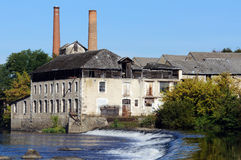 Old tannery along the Vienne River Royalty Free Stock Photos