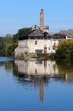 Old tannery along the Vienne River in Limousin Stock Images