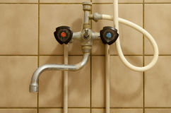 Old tap royalty free stock images