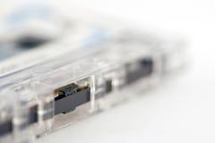 Old tape closeup Stock Image