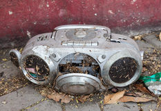 Old Tape deck Stock Image