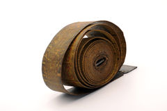 Old tape meter Royalty Free Stock Images