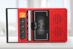 Old Tape Player Royalty Free Stock Images