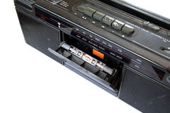 Old tape-recorder Stock Image
