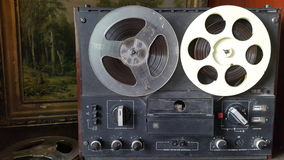 old tape recorder Stock Image
