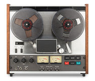 Old tape recorder Royalty Free Stock Photography