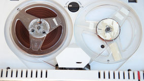 Old tape reel Stock Image