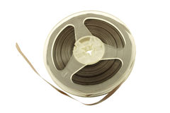 Old tape reel Royalty Free Stock Photo