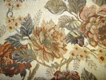 Old tapestry Royalty Free Stock Photo