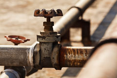 Free Old Taps And Pipes Royalty Free Stock Image - 22206826