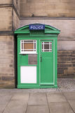 Old Tardis Style Police Box Royalty Free Stock Photo