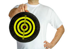 Old target Royalty Free Stock Image