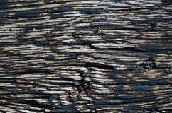 Old tarred wooden background. Old tarred and weathered wooden background Royalty Free Stock Photos