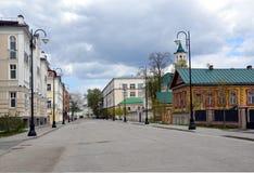 Old Tatar settlement in Kazan Stock Image