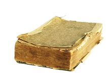 Old tattered book Stock Image