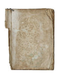 Old tattered book - paperback - on white background Royalty Free Stock Photo