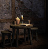 Old tavern Stock Images
