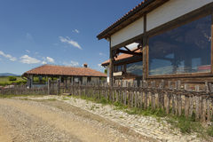 Old tavern in countryside resort Royalty Free Stock Photography