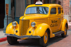 Old Taxi Royalty Free Stock Image