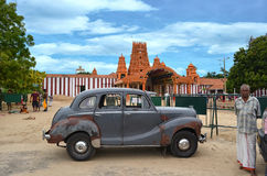 Old Taxi Jaffna Royalty Free Stock Image