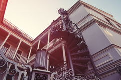 Old Tbilisi houses Royalty Free Stock Photo