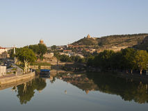 Old Tbilisi view Royalty Free Stock Image