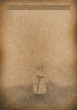 Old Tea Menu background Vintage paper for any design Royalty Free Stock Photos