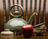 Old Tea Set Stock Photography