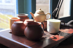 Old tea set Stock Image
