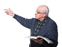 Old teacher Royalty Free Stock Images